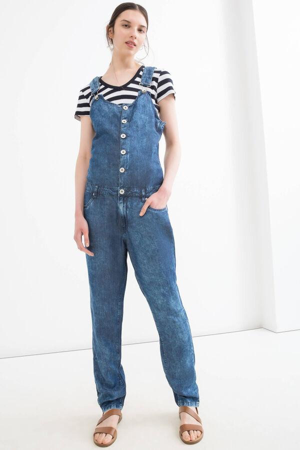 Salopette di jeans maltinto | OVS