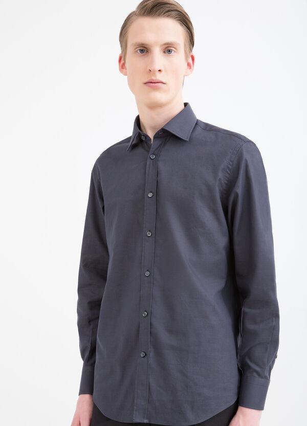 Regular-fit shirt with bluff collar | OVS