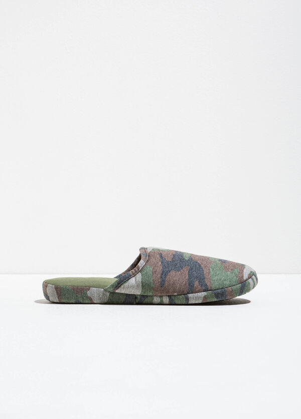 Slippers with camouflage pattern | OVS