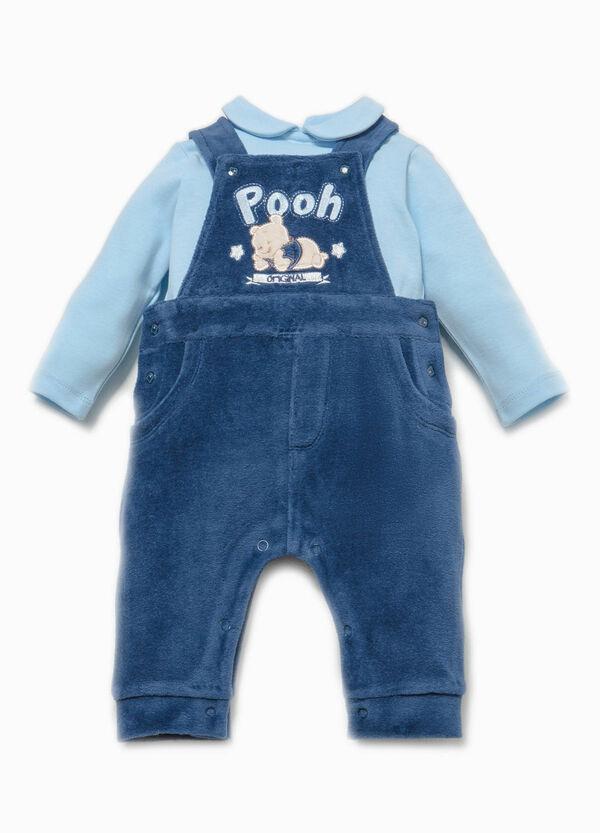 Completo t-shirt e salopette Winnie The Pooh | OVS