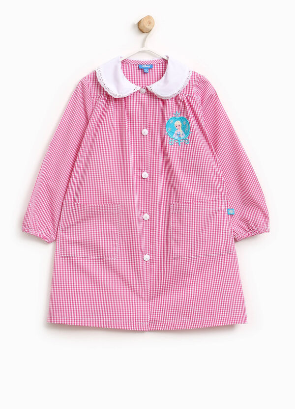 Micro check smock with Frozen patch | OVS