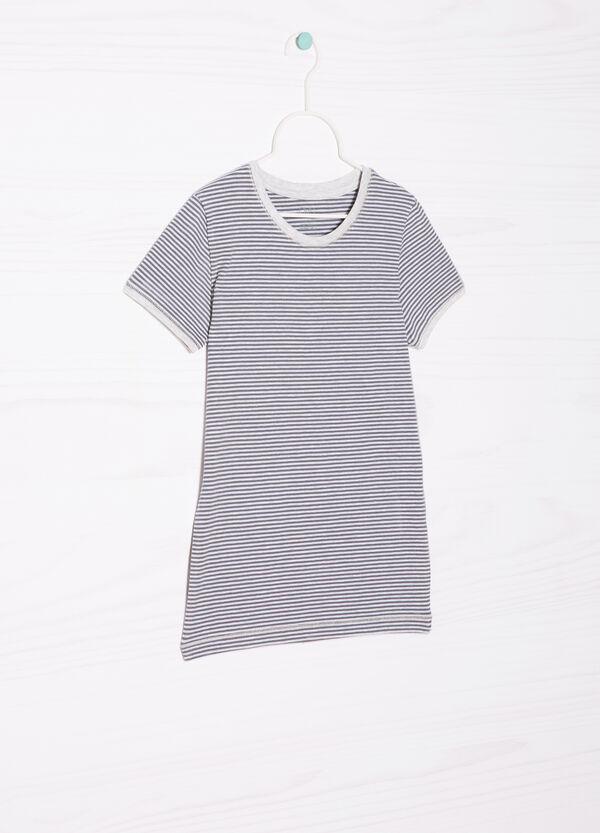 T-shirt intima cotone fantasia righe | OVS