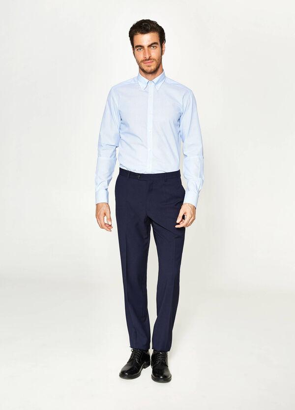 Pantaloni eleganti regular fit in viscosa | OVS