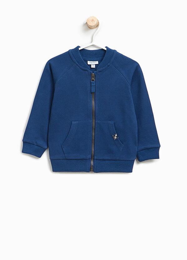 Cotton sweatshirt with raglan sleeves | OVS