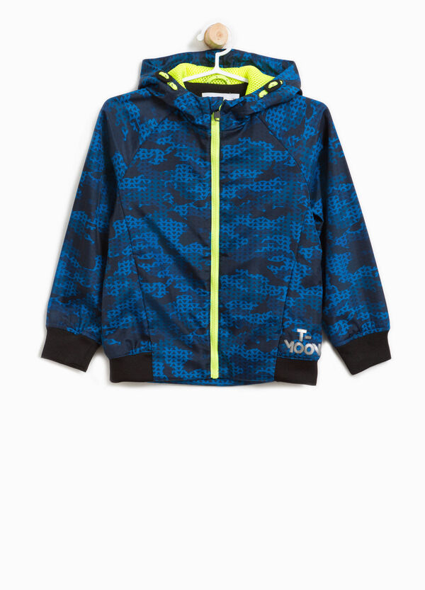Patterned jacket with hood   OVS