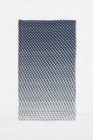 Polka dot print scarf