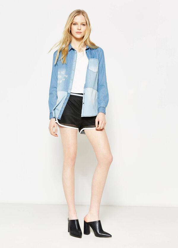 Shorts traforati con patch | OVS