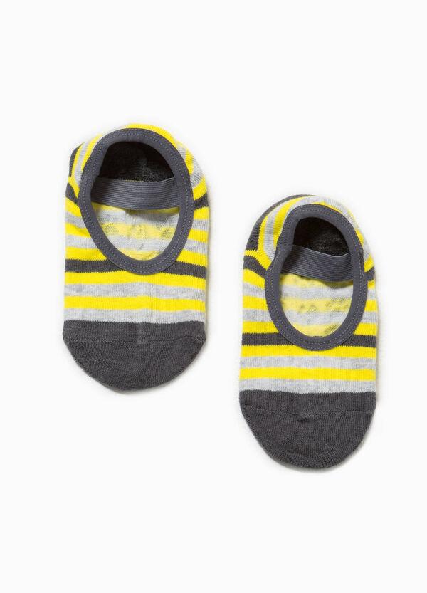 Striped slipper socks | OVS