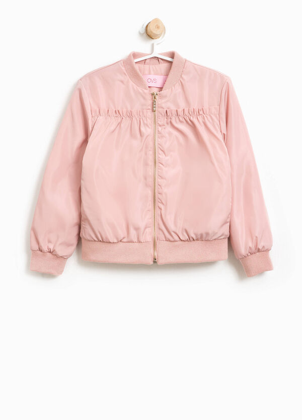 Bomber jacket with gathering and zip | OVS