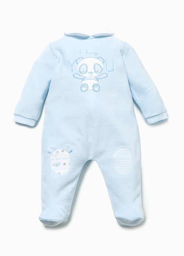 Onesie with patches | OVS