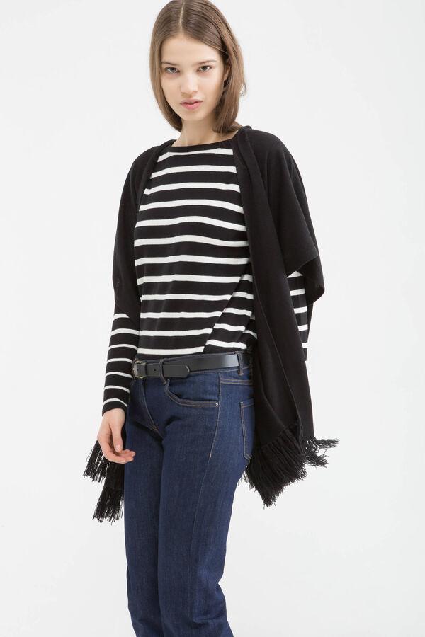 Cardigan tricot con frange | OVS
