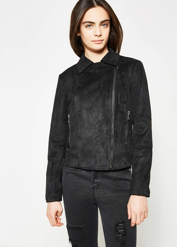 Teen suede look jacket | OVS