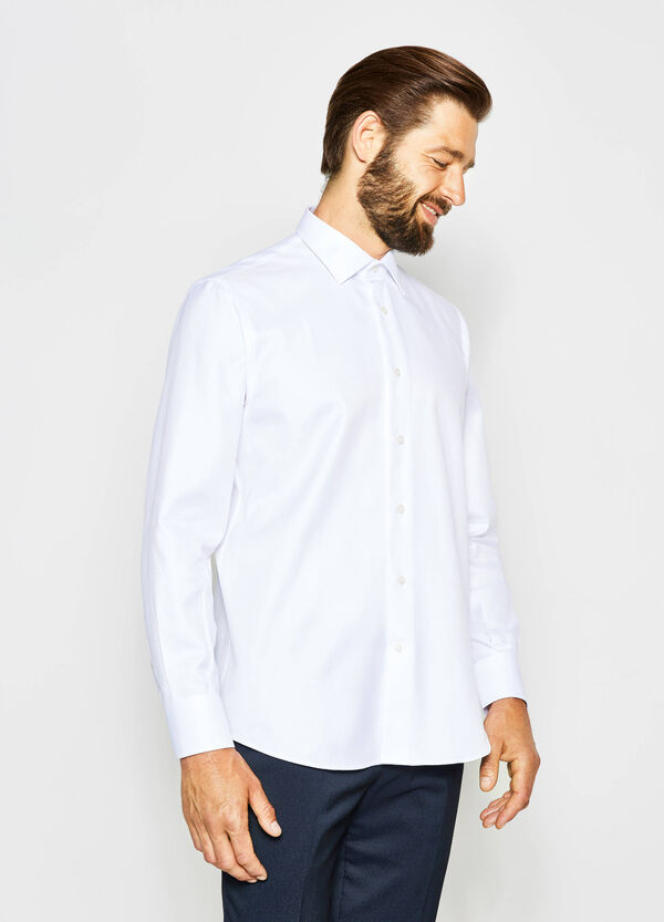 Regular-fit formal shirt in 100% cotton | OVS
