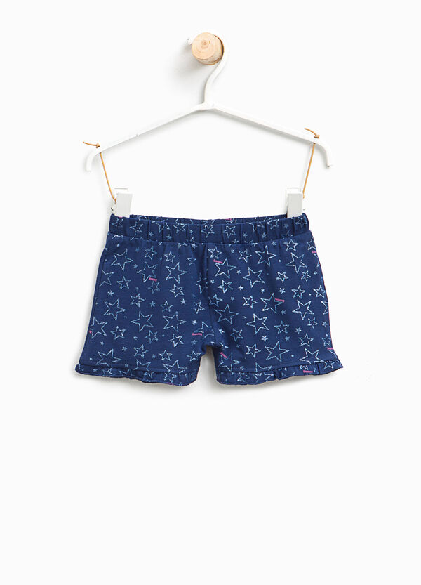 Shorts stretch fantasia a stelle glitter | OVS