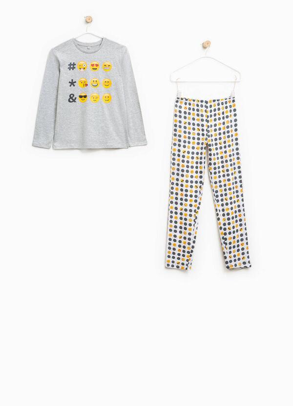 Smiley cotton pyjamas | OVS