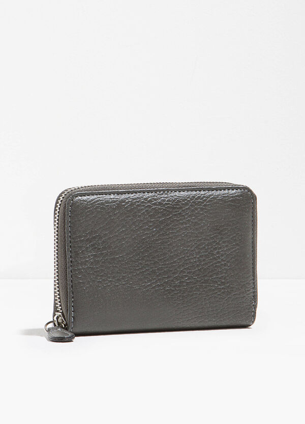 Textured-effect purse | OVS