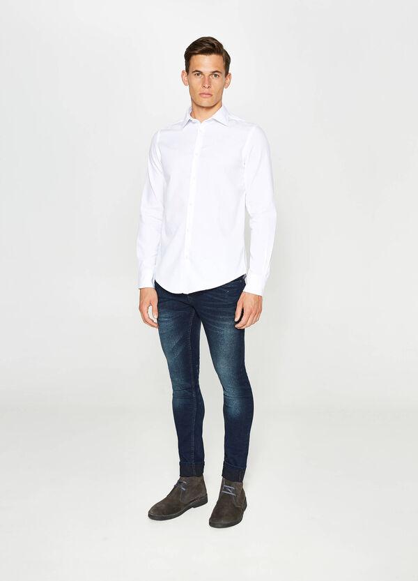 Cotton poplin casual shirt | OVS