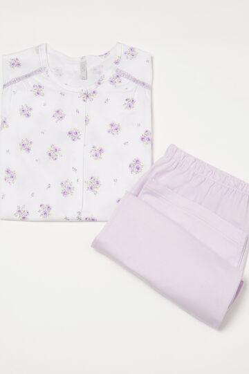 Curvy 100% cotton floral pyjamas