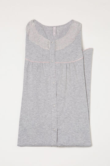 Nightshirt with lace