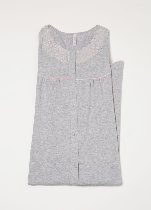 Nightshirt with lace | OVS