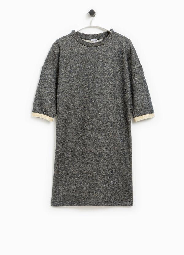 Smart Basic dress with lurex and glitter | OVS