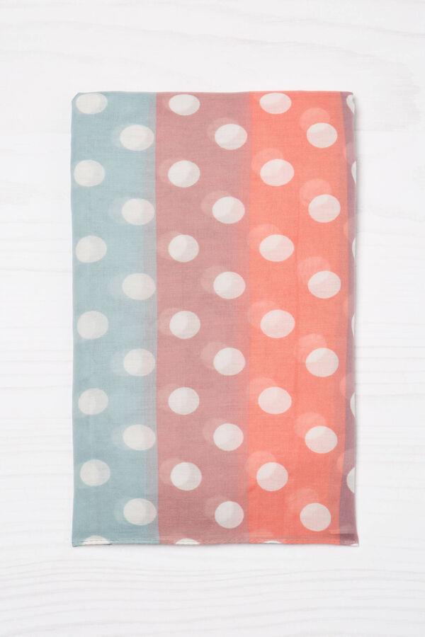 Sciarpa con stampa multicolore | OVS