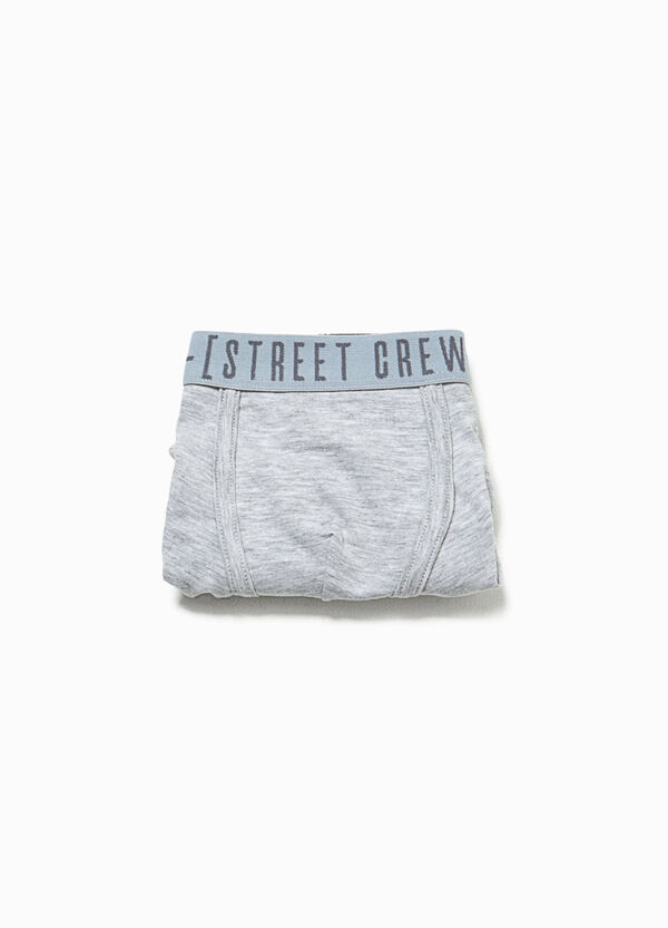 Organic cotton boxers with print | OVS