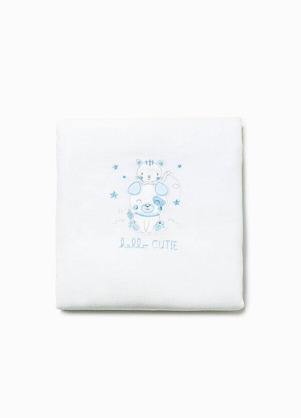 Coperta per culla in misto cotone | OVS
