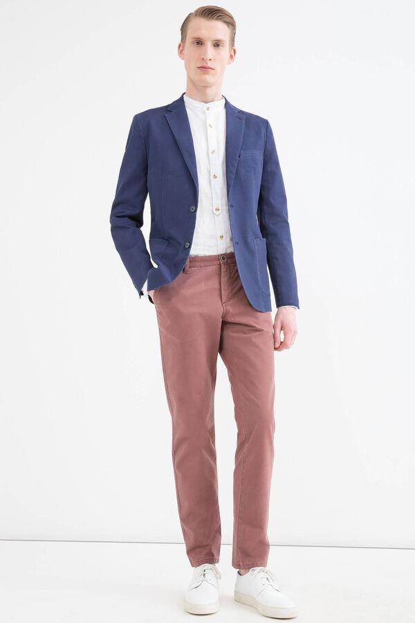 Slim fit, stretch cotton jacket | OVS