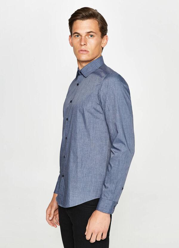 Camicia casual in misto cotone | OVS