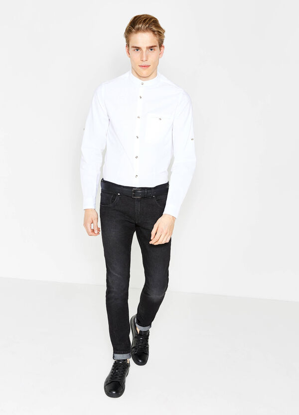 Camicia casual dobby cotone G&H | OVS