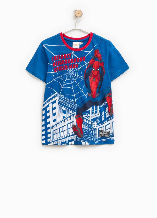 T-shirt girocollo maxi stampa Spiderman | OVS