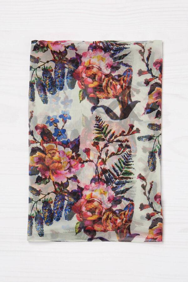 Sciarpa in viscosa stampa floreale | OVS