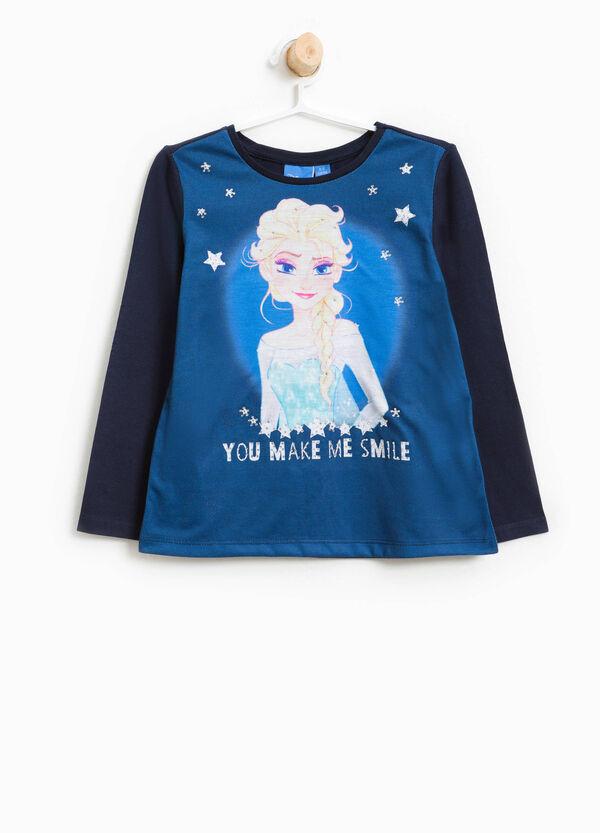 T-shirt in cotone Frozen con strass | OVS