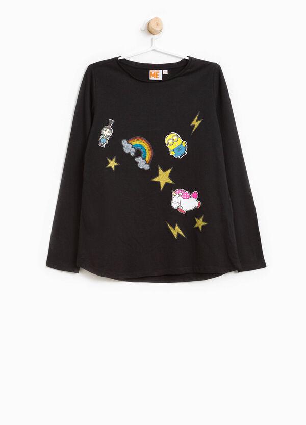 T-shirt in cotone stampa Cattivissimo Me | OVS