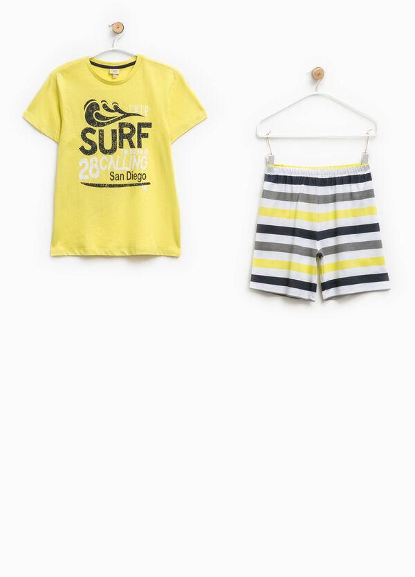 Striped pyjamas in 100% Biocotton   OVS