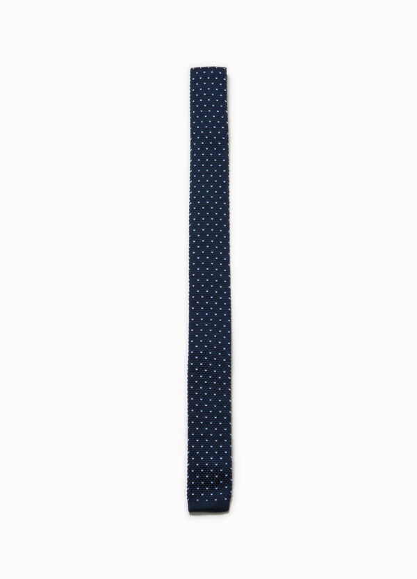 Polka dot patterned tie | OVS