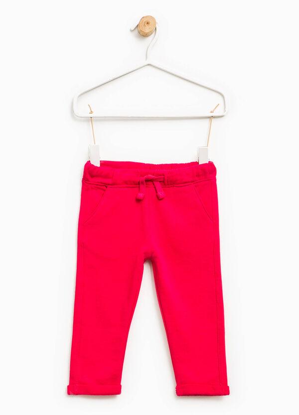 Pantaloni tuta cotone con coulisse | OVS