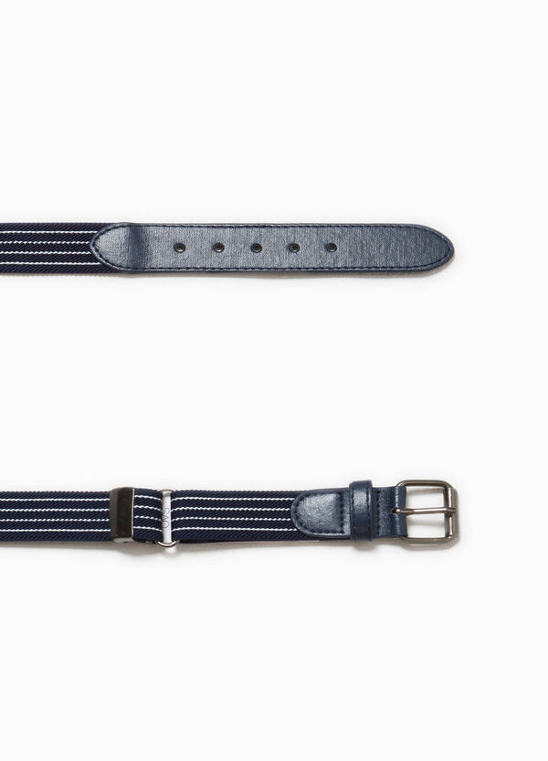 Striped belt | OVS