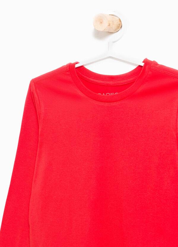 T-shirt in puro cotone girocollo | OVS