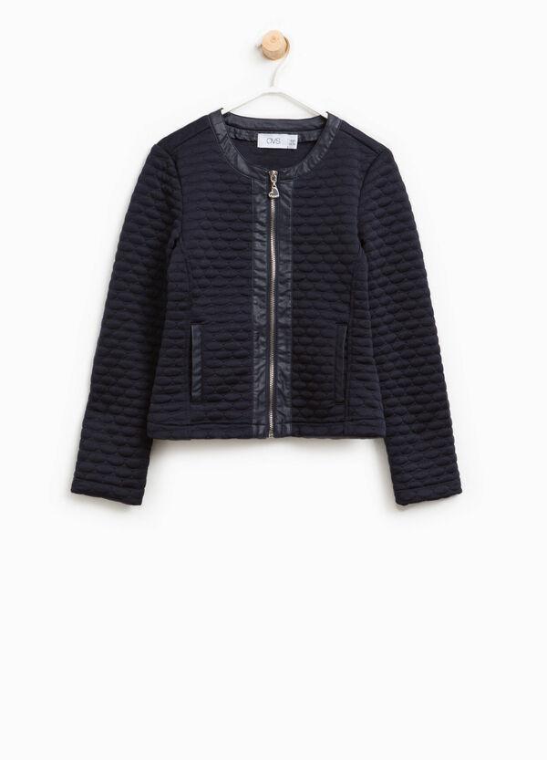 Jacket with raised weave | OVS