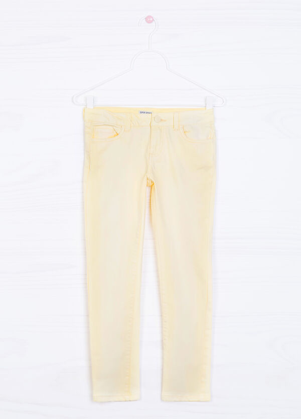 Jeans super skinny fit effetto delavé | OVS