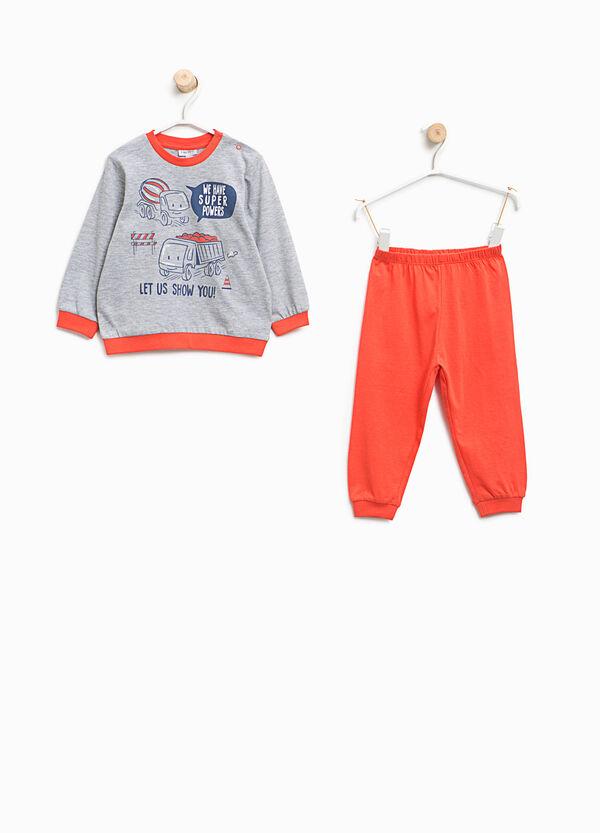 Organic cotton pyjamas with print | OVS