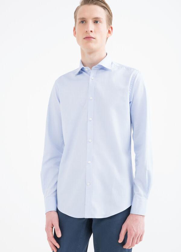 Slim-fit shirt in 100% cotton   OVS