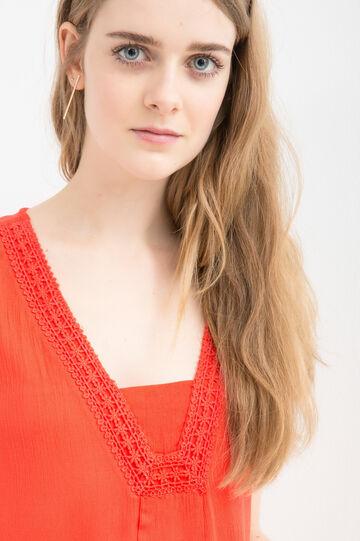 Plain rayon blouse