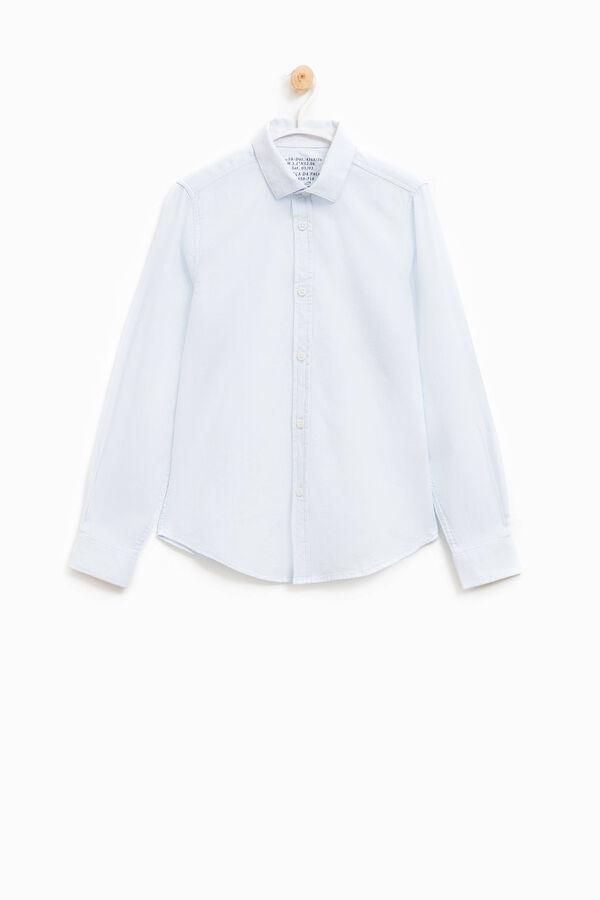 Camicia a costina puro cotone | OVS