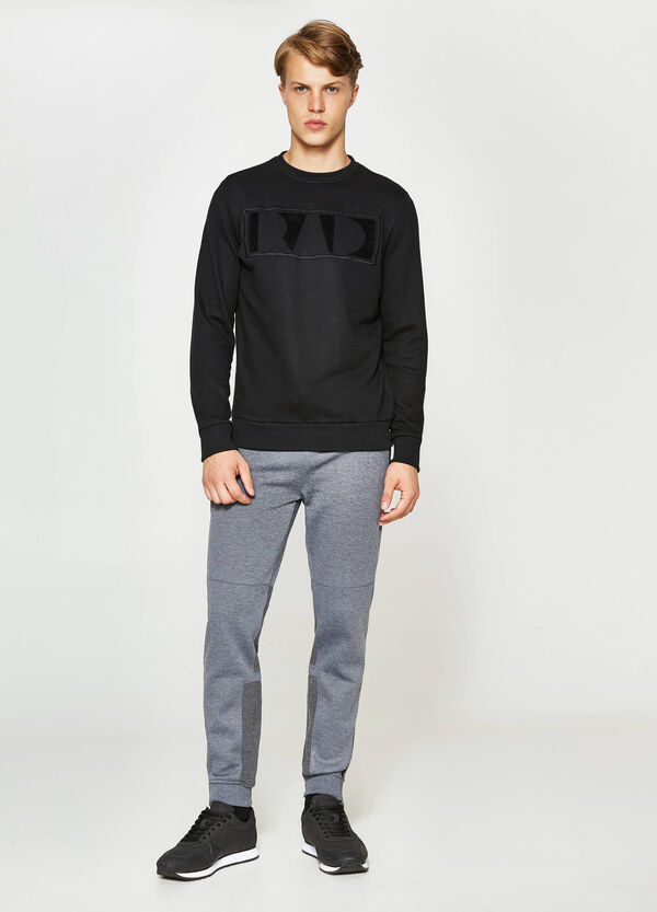 Joggers with quilted inserts | OVS