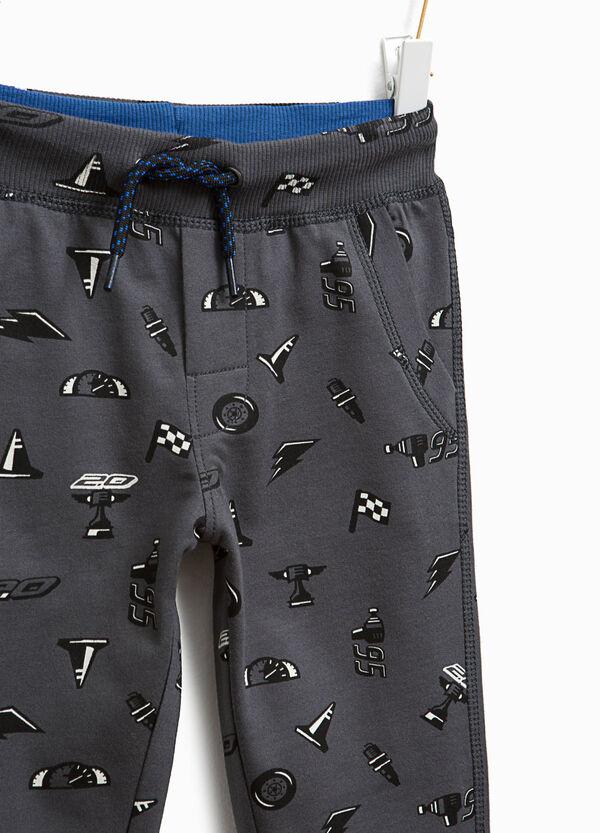 Pantaloni tuta cotone fantasia Cars | OVS