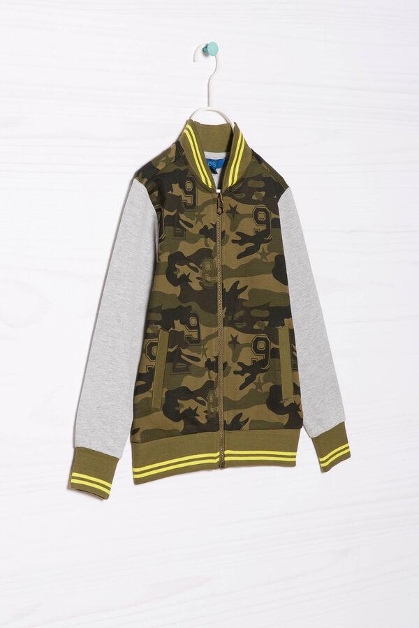 Felpa camouflage puro cotone | OVS