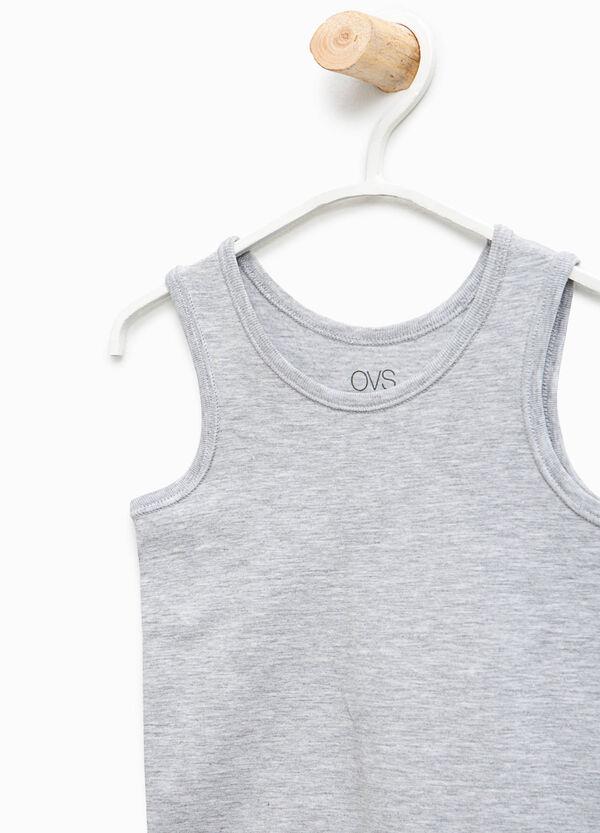 Canottiera intima cotone organico unito | OVS